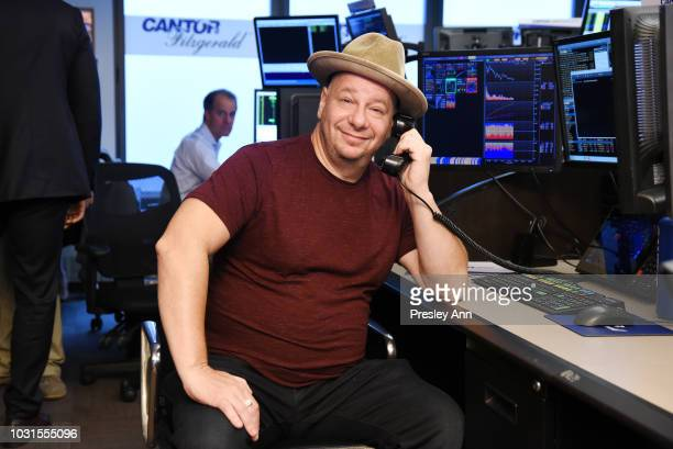 Jeff Ross attends the Annual Charity Day hosted by Cantor Fitzgerald BGC and GFI at Cantor Fitzgerald on September 11 2018 in New York City