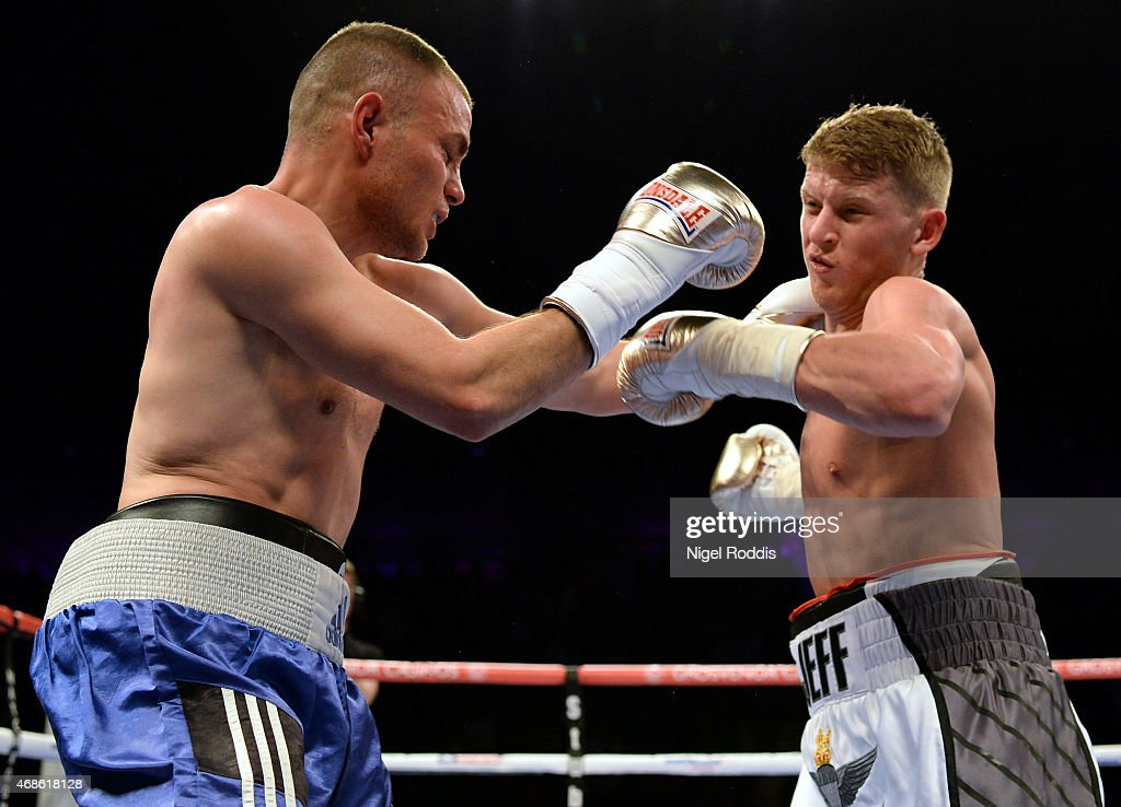 Boxing at Metro Radio Arena in Newcastle : News Photo