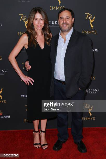 Jeff Schaffer and guest attend the Television Academy Honors Emmy Nominated Producers at Montage Beverly Hills on September 14 2018 in Beverly Hills...