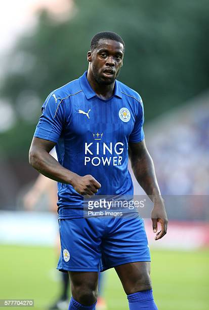 Jeff Schlupp of Leicester City during the pre season friendly between Oxford United and Leicester City at Kassam Stadium on July 19 2016 in Oxford...