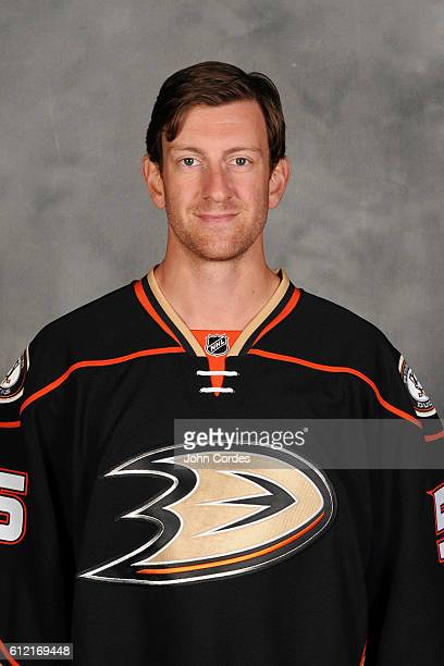 Jeff Schultz of the Anaheim Ducks poses for his official headshot for the 20162017 season on September 22 2016 at Honda Center in Anaheim California