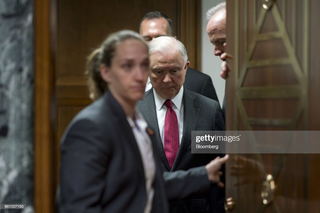 Attorney General Jeff Sessions Testifies To The Senate Appropriations Committee On FY'19 Budget