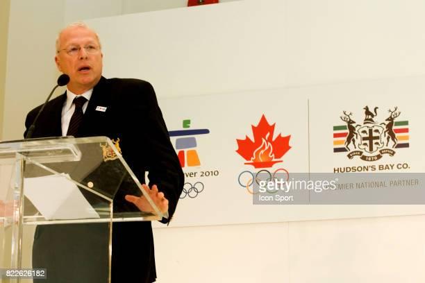 Jeff SHERMAN Ouverture de l Olympic Superstore a Vancouver Jeaux Olympiques d Hiver de Vancouver 2010 Vancouver