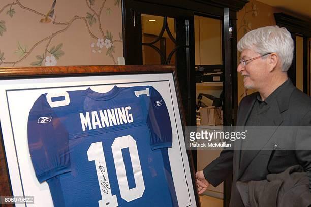 Jeff Sinaw attends Judith Ripka Eli Manning Holiday Shopping Night at Judith Ripka on December 12 2006 in New York City