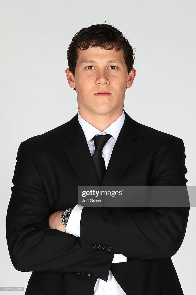 Jeff Skinner of the Carolina Hurricanes poses for a portrait during the 2011 NHL Awards at the Palms Casino Resort June 22, 2011 in Las Vegas, Nevada.