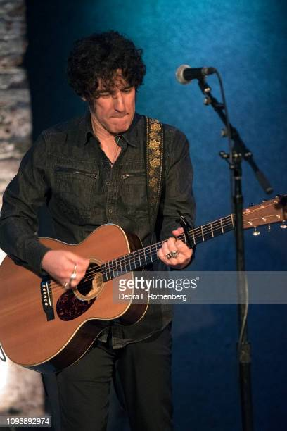 Jeff Slate opens for Rhett Miller live in concert at City Winery on February 4 2019 in New York City