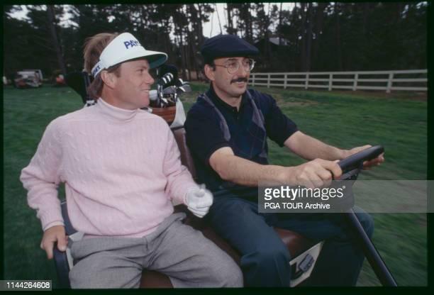 Jeff Sluman Bobby Rahal Pebble Beach National ProAm Photo by Jeff McBride/PGA TOUR Archive