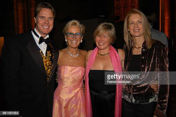 Jeff Smith Nan Sweetser Cindy Lovelace and Candace van Stryker attend Joe Blount's 50th Birthday Party at Cipriani 42nd Street on December 17 2005 in...