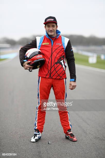 Jeff Smith of Eurotech Raciing during the British Touring Car Championship Media Day at Donington Park on March 16 2017 in Castle Donington England
