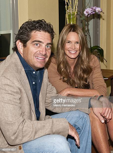 Jeff Soffer and Elle Macpherson attend a Miami event on December 12 2010 in Miami Florida