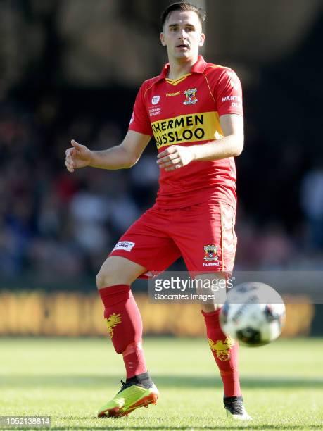 Jeff Stans of Go Ahead Eagles during the Dutch Keuken Kampioen Divisie match between Go Ahead Eagles v Roda JC at the De Adelaarshorst on October 14...