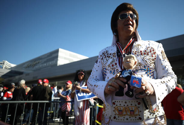 NV: Donald Trump Holds Campaign Rally In Las Vegas One Day Before NV Caucuses