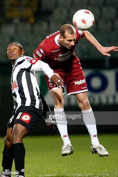 Jeff STRASSER Metz / Angers ± 17eme journee de Ligue 2