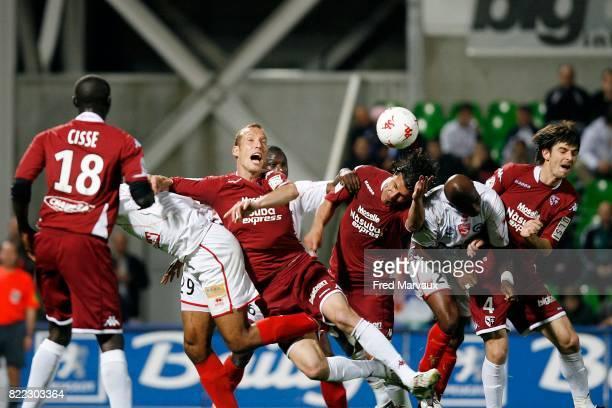 Jeff STRASSER / Nenad JESTROVIC / Robert MALM / Matheus VIVIAN Metz / Nimes 34eme journee de Ligue 2