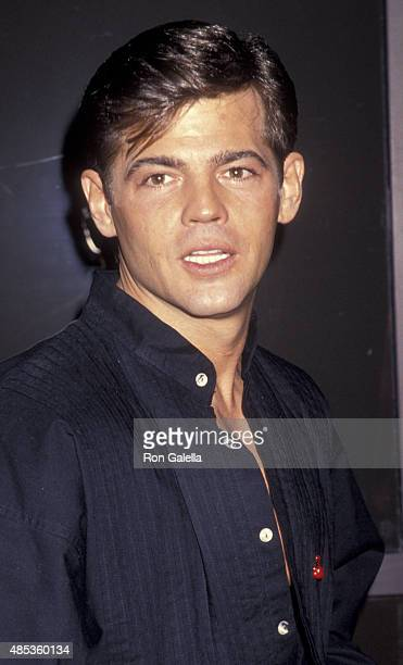 Jeff Stryker attends Angel Art Benefit for Project Angel Food on December 5, 1993 at the Pacific Design Center in Los Angeles, California.