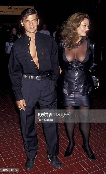 Jeff Stryker attends Angel Art Benefit for Project Angel Food on December 5 1993 at the Pacific Design Center in Los Angeles California