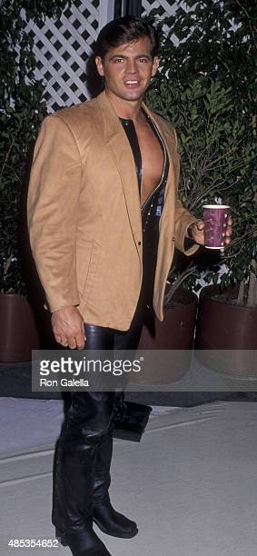 Jeff Stryker attends Sixth Annual APLA Commitment to Life Benefit on November 18, 1992 at the Universal Ampitheater in Universal City, California.