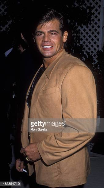 Jeff Stryker attends Sixth Annual APLA Commitment to Life Benefit on November 18 1992 at the Universal Ampitheater in Universal City California