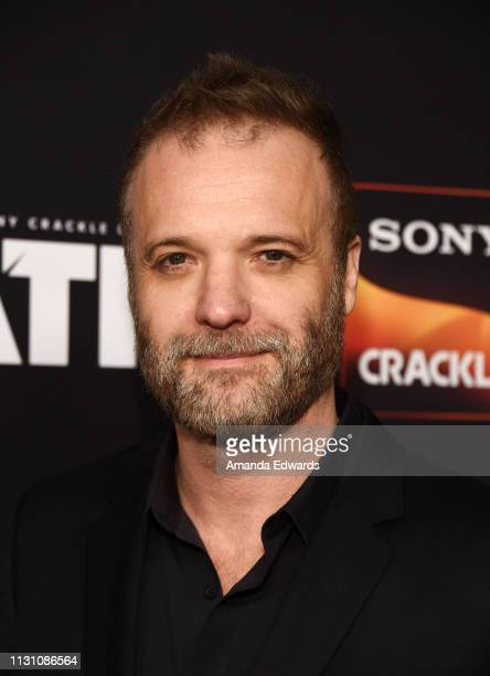Jeff T Thomas arrives at Sony Crackle's 'The Oath' Season 2 exclusive screening event at Paloma on February 20 2019 in Los Angeles California