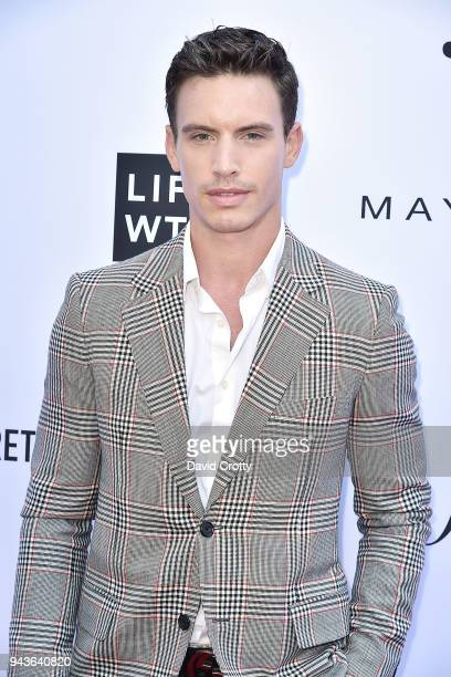 Jeff Thomas attends The Daily Front Row's 4th Annual Fashion Los Angeles Awards Arrivals at The Beverly Hills Hotel on April 8 2018 in Beverly Hills...