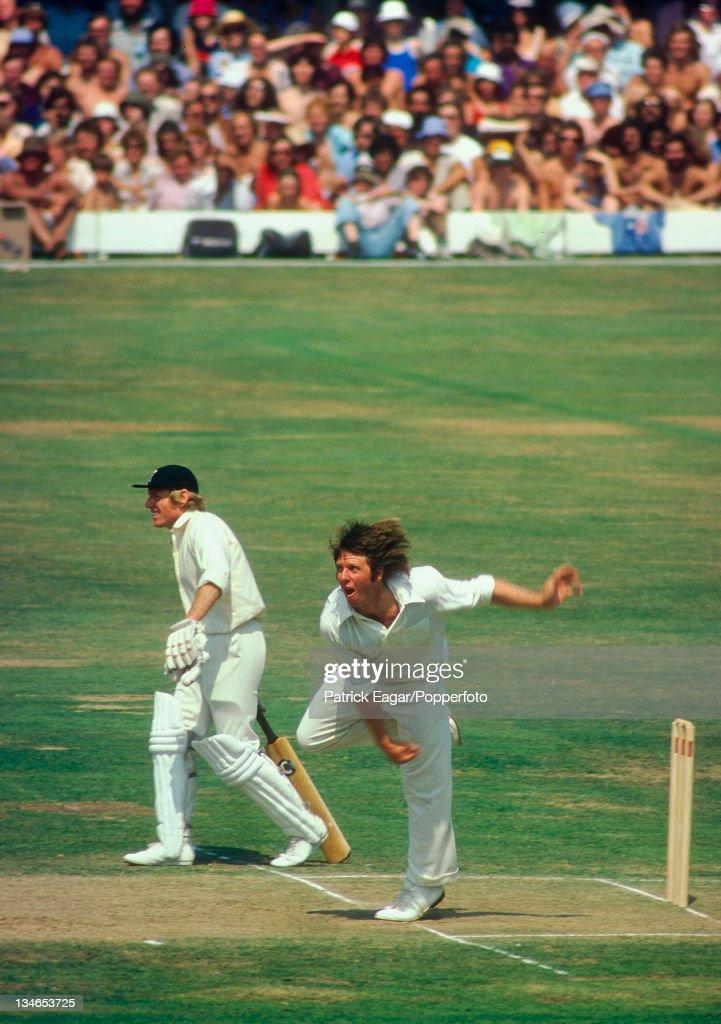 England v Australia, 2nd Test, Lord's, July 1975 : News Photo