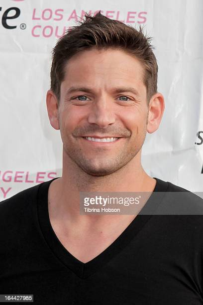 Jeff Timmons atttends the 17th annual Los Angeles County 'Race For The Cure' at Dodger Stadium on March 23 2013 in Los Angeles California