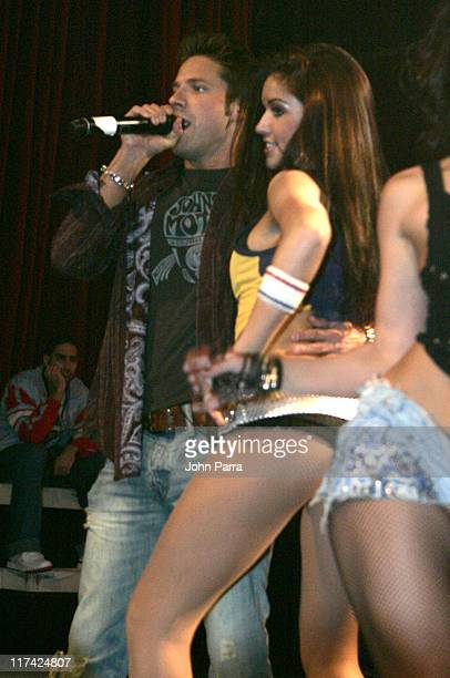 Jeff Timmons of 98 Degrees during VH1 Presents Sureshot Live with Man Band January 30 2007 at Mansion in Miami Florida United States