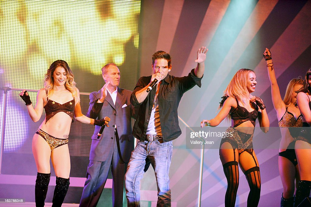 Jeff Timmons performs during The Knockouts Burlesque Show at Seminole Casino Coconut Creek on March 15, 2013 in Coconut Creek, Florida.