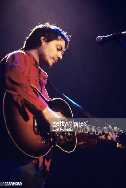 Jeff Tweedy performing with Wilco at Hal Willner's Harry Smith Project tribute concert at St Ann's Chuch in Brooklyn New York on November 11 1999