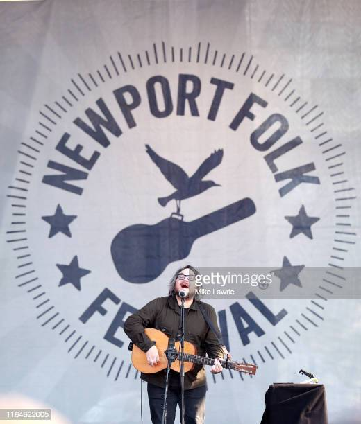 Jeff Tweedy performs during day two of the 2019 Newport Folk Festival at Fort Adams State Park on July 27 2019 in Newport Rhode Island