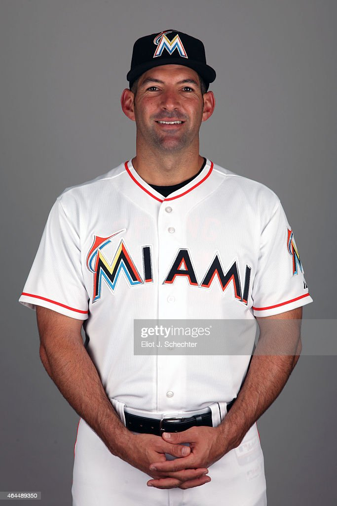 Jeff Urgelles #75 of the Miami Marlins poses during Photo Day on Wednesday, February 25, 2015 at Roger Dean Stadium in Jupiter, Florida.