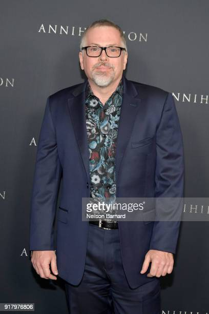 Jeff VanderMeer attends the premiere of Paramount Pictures' 'Annihilation' at Regency Village Theatre on February 13 2018 in Westwood California