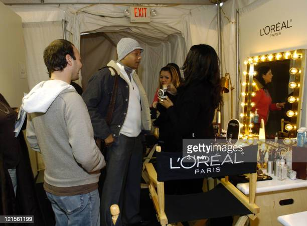 Jeff Vespa and Terrence Howard during 2006 Sundance Film Festival HP Portrait Studio Presented by WireImage Day 3 at HP Portrait Studio Presented By...