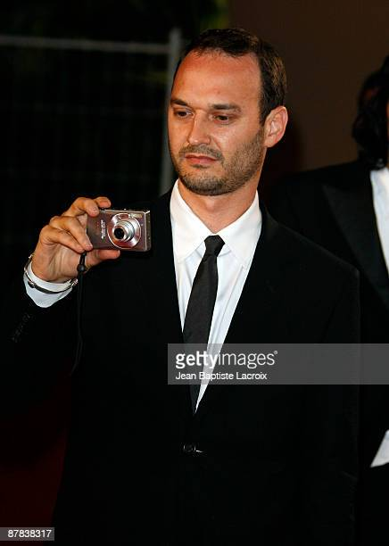 Jeff Vespa attends the 'Antichrist' premiere at the Grand Theatre Lumiere during the 62nd Annual Cannes Film Festival on May 18 2009 in Cannes France