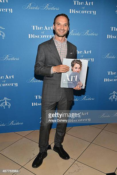 Jeff Vespa attends the LA launch for Jeff Vespa's new book 'The Art of Discovery' at Brooks Brothers Rodeo on October 23 2014 in Beverly Hills...