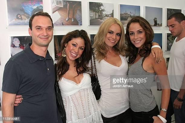 Jeff Vespa Diane Gaeta Alex Prager and Shira Lazar