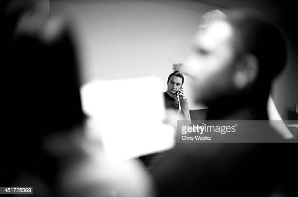 Jeff Vespa of WireImagecom during Sundance Film Festival 2006 Retrospective in Black White by Chris Weeks in Park City Utah United States