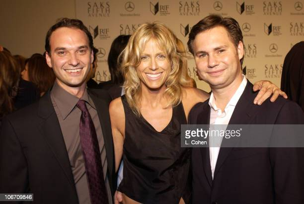 Jeff Vespa Tracey Ross and Jason Binn during Saks Fifth Avenue and Los Angeles Confidential Magazine Honor Sharp Dressed Men 2003 at Saks Fifth...