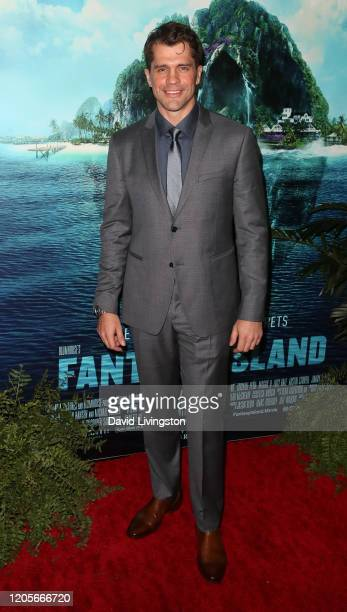 Jeff Wadlow attends the premiere of Columbia Pictures' Blumhouse's Fantasy Island at AMC Century City 15 on February 11 2020 in Century City...