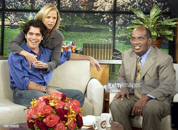 Jeff Wadlow winner of the 2002 Chrysler Million Dollar Film Festival Katie Couric and Al Roker