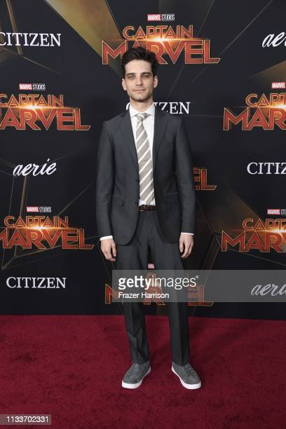 Jeff Ward attends the Marvel Studios Captain Marvel premiere on March 04 2019 in Hollywood California