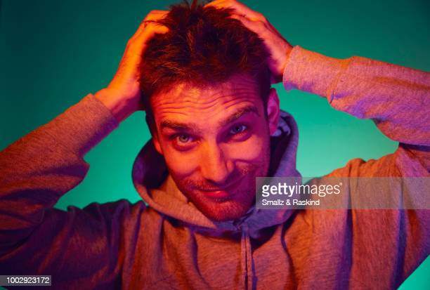 Jeff Ward from Marvel's 'Agents of S.H.I.E.L.D.' poses for a portrait at the Getty Images Portrait Studio powered by Pizza Hut at San Diego 2018...
