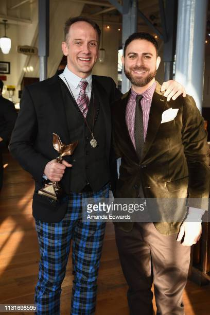 Jeff Whitty and Joe DiPasquale attend the 2019 Film Independent Spirit Awards after party on February 23 2019 in Santa Monica California