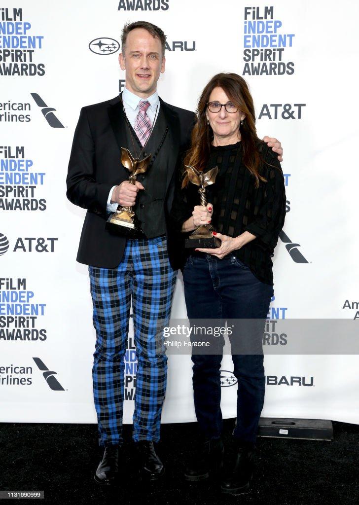 2019 Film Independent Spirit Awards  - Press Room : News Photo