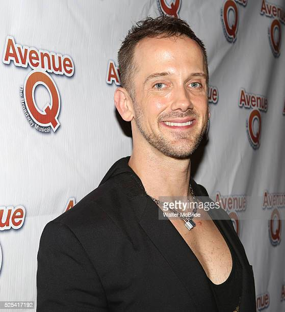 Jeff Whitty attending the 10th Anniversary Performance After Party for Avenue Q at Hudson Terrace on July 31 2013 in New York City