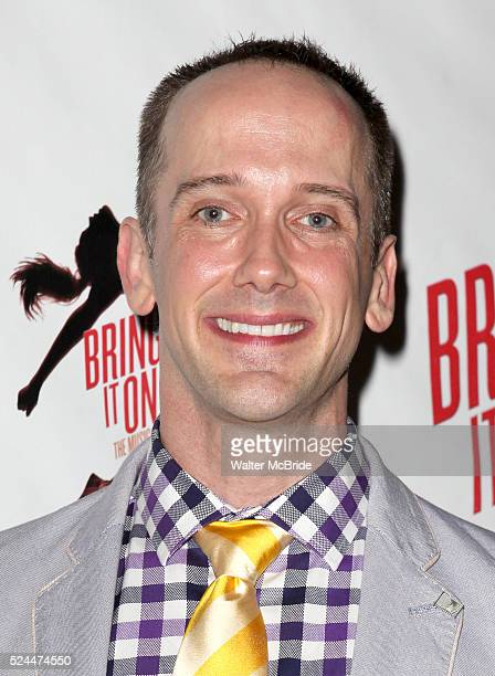 Jeff Whitty attending the Broadway Opening Night Performance of 'Bring it On The Musical' at the St James Theatre in New York City on 8/1/2012 ��...