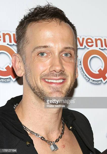 Jeff Whitty attends Avenue Q 10th Year Anniversary Performance at New World Stages on July 31 2013 in New York City