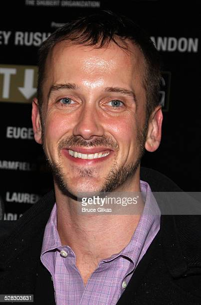 Jeff Whitty attends the Broadway opening night of Exit The King at the Ethel Barrymore Theatre on March 26 2009 in New York City