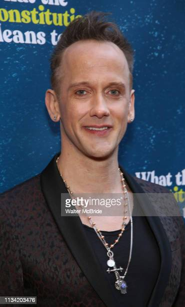 Jeff Whitty attends the Broadway Opening Night Performance of What The Constitution Means To Me at the Hayes Theatre on March 31 2019 in New York City