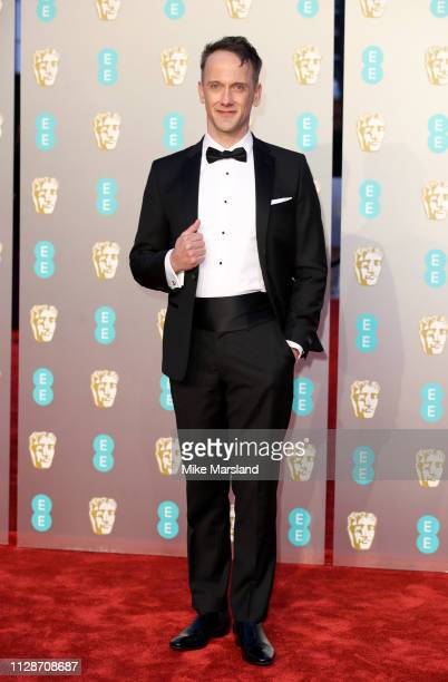 Jeff Whitty attends the EE British Academy Film Awards at Royal Albert Hall on February 10 2019 in London England